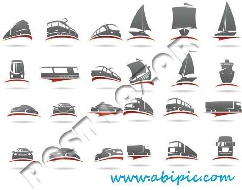 دانلود وکتور لوگوی سازمان های حمل و نقل Logos transport vector