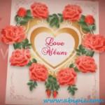 دانلود سری جدید پروژه های افترافکت عروسی Wedding Album Red Roses to After Effects
