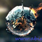دانلود طرح آماده افترافکت آب و آتش Fire Water Logo After Effects