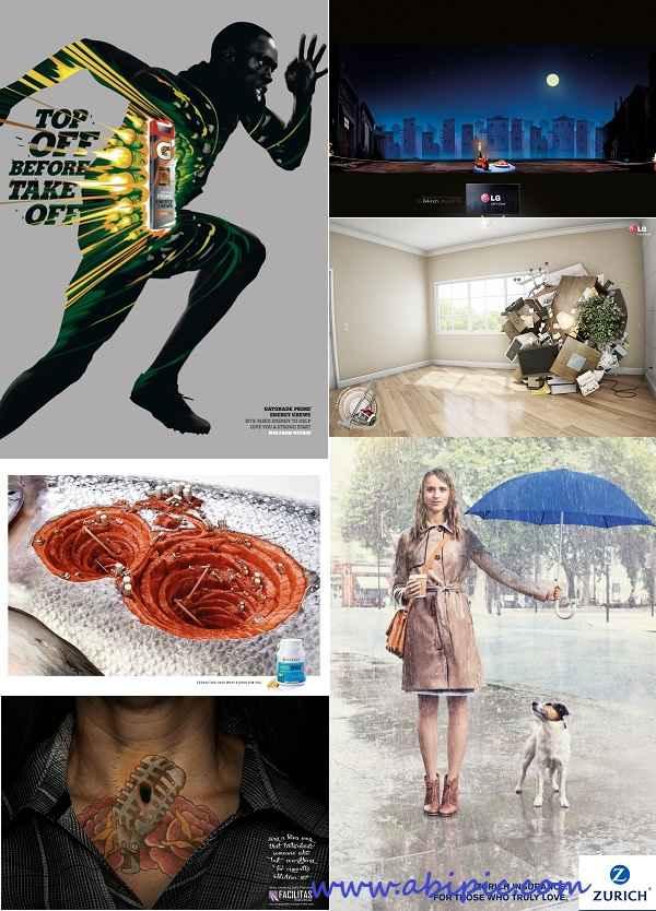 دانلود مجموعه تصاویر تبلیغات خلاقانه شماره 12 Creative advertising Part