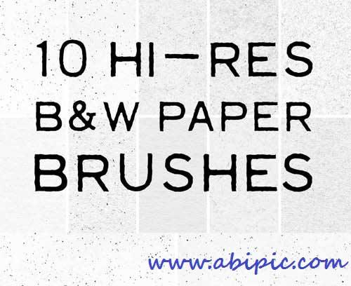دانلود 10 براش با کیفیت بالا کاغذ و برگه Hi Res Paper Brushes