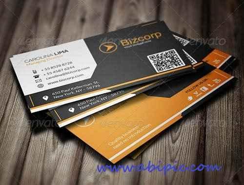 دانلود کارت ویزیت شرکتی شماره 7  Corporate Business Card