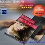 دانلود طرح لایه باز بروشور مد و فشن A5 Fashion Brochure