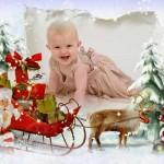 دانلود قاب عکس فتوشاپ کریسمس Frame for Photoshop – To gift