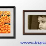 دانلود طرح لایه باز قاب و فریم عکس چوبی فتوشاپ Wooden Photo Frames PSD Template