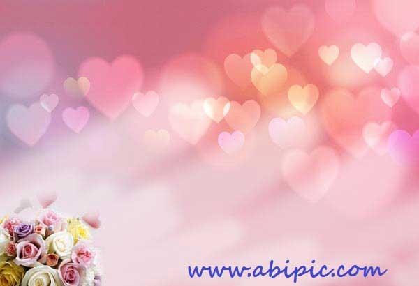دانلود پس زمینه لایه باز عاشاقانه و رمانتیک شماره 2 PSD Delicate Romance Backgrounds