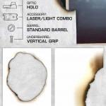 دانلود تکسچر کاغذ سوخته Burnt Paper Edges Textures