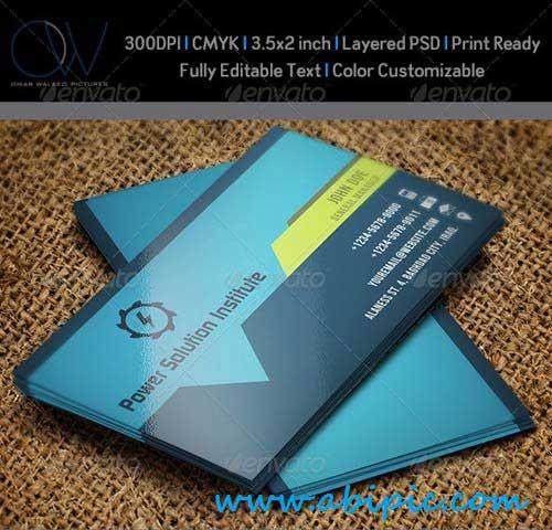 دانلود کارت ویزیت شرکتی شماره 8 Corporate Business Card
