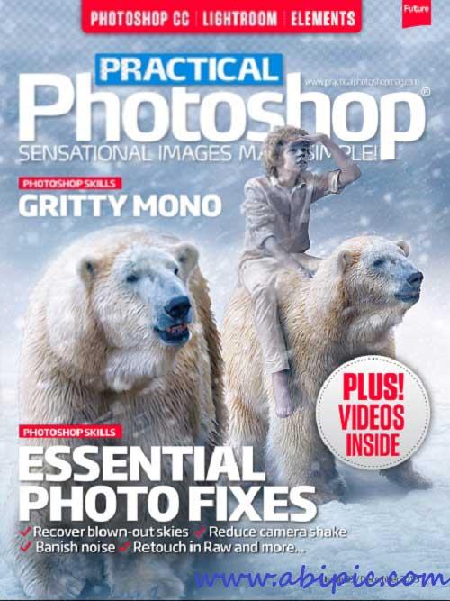 دانلود مجله آموزش فتوشاپ Practical Photoshop UK - December 2013
