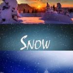 دانلود فوتیج آماده برف Snow footages