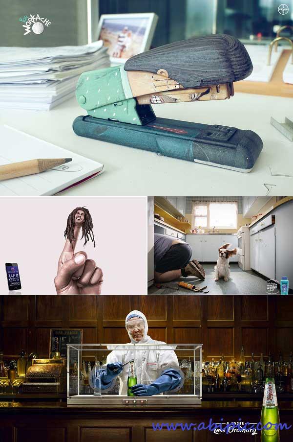 دانلود تصاویر هنری و تبلیغاتی خلاقانه شماره 14 Creative Pack