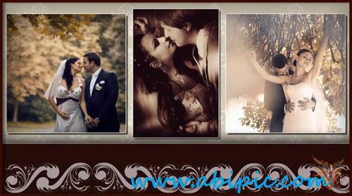 دانلود استایل برای آلبوم عروسی Mystical Wedding Album FULL style for ProShow Producer