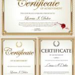 دانلود وکتور گواهی و تاییدیه Certificate vector