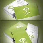 دانلود کارت ویزیت مخصوص شرکت های اینترنتی و کامپیوتری GONet Business Card