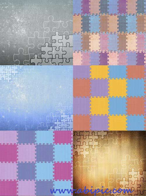 دانلود تکسچر با طرح پازل Textures With Puzzles