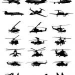 دانلود وکتور هواپیماهای مسافربری و نظامی Vector Air Military Set