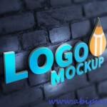 دانلود 3 طرح لایه باز موک آپ و پیش نمایش لوگو Logo Mock-up Template PSD