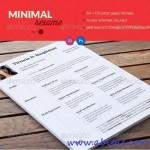 دانلود قالب کاور و نامه رزومه سری 9 Resume CV & Cover Letter