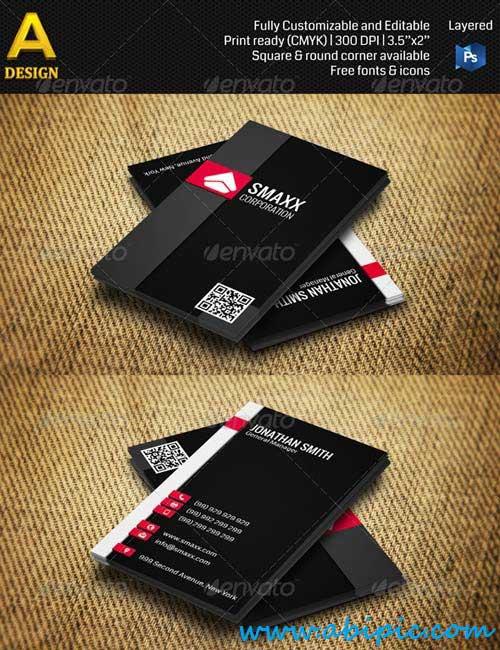 دانلود وکتور شرکتی شماره 11 Corporate Business Card