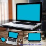 دانلود طرح لایه باز پیش نمایش و موک آپ لپ تاپ Laptop Mock-Up