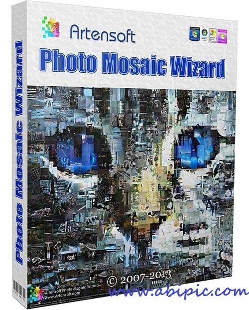 دانلود نرم افزار ساخت تصاویر موزاییکی Artensoft Photo Mosaic Wizard 1.7.125