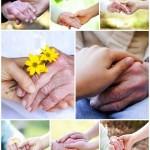 دانلود تصاویر استوک دست در دست سالمندان Holding hands with senior