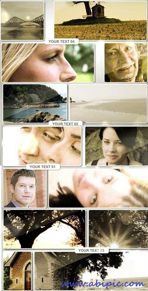 دانلود انواع ماسک های مختلف عکس برای افترافکت Photo Masks - After Effect Template