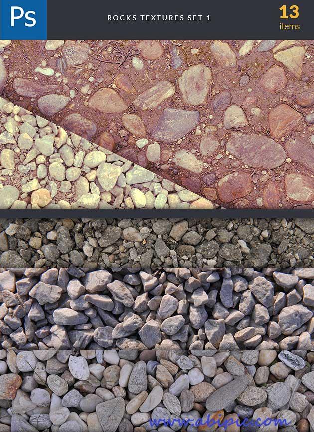 دنلود مجموعه تکسچرهای شن ماسه و سنگ Rocks Background Textures