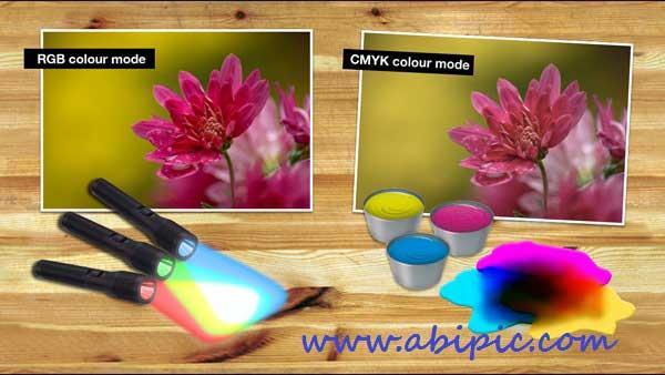دانلود آموزش پایه ای فتوشاپ قسمت 4 آموزش حالت ها و عمق رنگ Colour Modes and Bit Depth