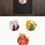 وکتور طرح های هنری زیبا روی تی شرت شماره 4 Vector – Art T-Shirt design