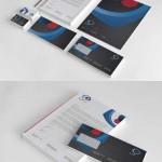 دانلود وکتور طرح ست اداری شماره 7 Eye Care Corporate Identity