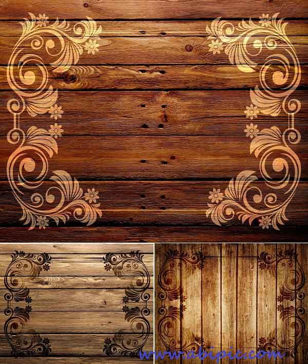 دانلود 3 تکسچر چوب Wood Pattern Textures