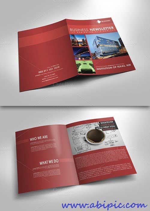 دانلود وکتور بروشور طرح شماره 3 Simple and Clean Brochure Template