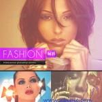 دانلود اکشن و افکت عکس فشن Fashion – Photoshop Actions