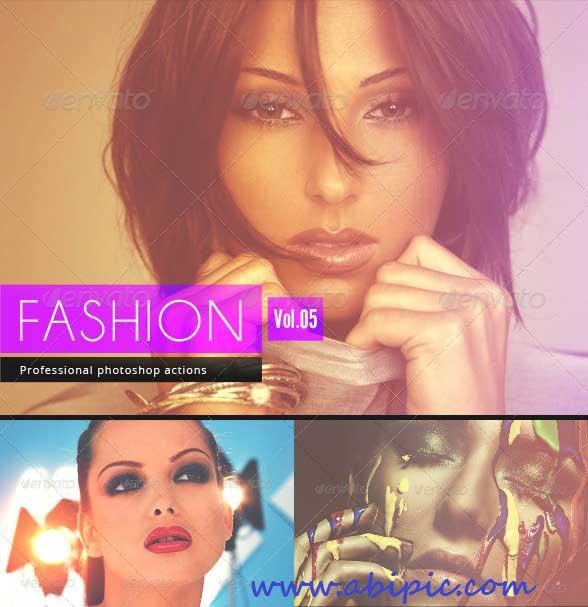 دانلود اکشن و افکت عکس فشن Fashion - Photoshop Actions