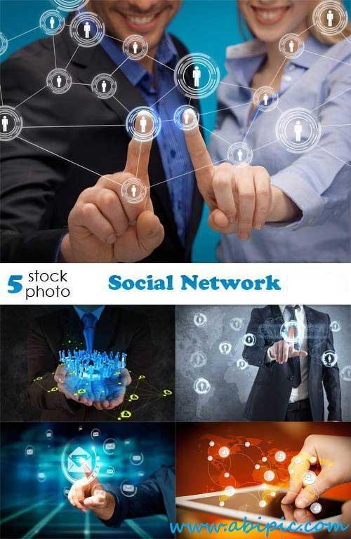 دانلود تصاویر استوک مرتبط با شبکه های اجتماعی Photos Social Network
