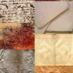دانلود 15 تکسچر کاغذهای قدیمی set of old paper texture