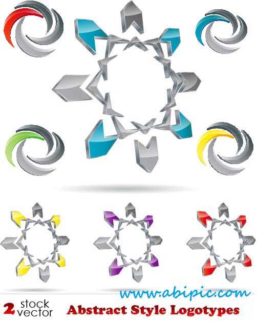 دانلود وکتور لوگوی شماره 11 Vectors Abstract Style Logotypes