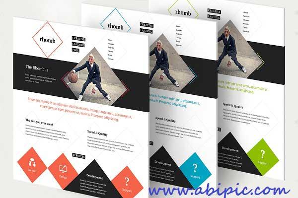دانلود طرح لایه باز قالب های آ»اده و پوستر تبلیغاتی PSD Template