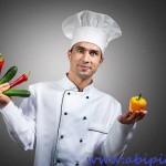دانلود تصاویر استوک سر آشپز با کیفیت بالا Comic chef Stock Photo