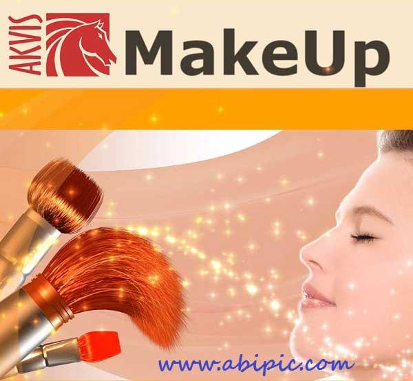 دانلود نرم افزار و پلاگین آرایش و روتوش عکس در فتوشاپ AKVIS MakeUp 3.5.446.10727
