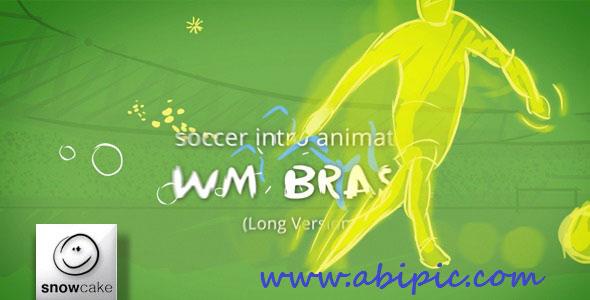 دانلود طرح افترافکت فوتبال مخصوص جام جهانی برزیل Soccer Intro After Effects Project
