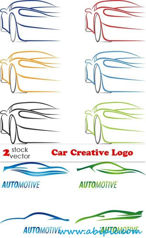 دانلود وکتور لوگوی خلاقانه ماشین Vectors Car Creative Logo