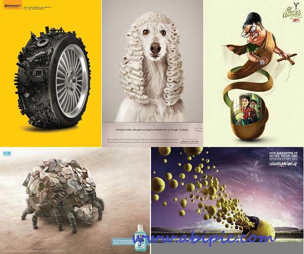 دانلود مجموعه تصاویر تبلیغاتی خلاقانه شماره 24 Creative Pack
