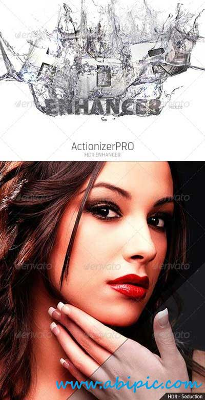 دانلود اکشن افزایش کیفیت عکس Action HDR Enhancer