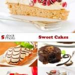 دانلود تصاویر استوک کیک و شیرینی Photos Sweet Cakes