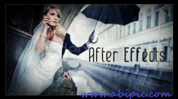 پروژه و قالب آماده افترافکت عروسی شماره 5 The Wedding Project for After Effects