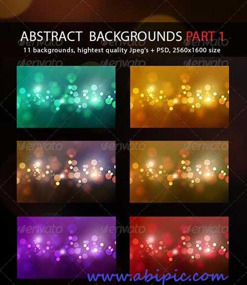دانلود بک گراندهای لایه باز انتزائی PSD Abstract Backgrounds