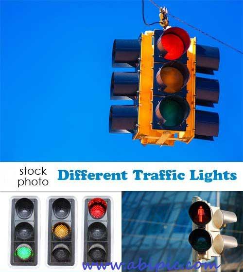 دانلود تصاویر اتوک چراغ راهنما Photos Different Traffic Lights