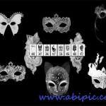 دانلود براش فتوشاپ انوع ماسک Mask Photoshop Brushes